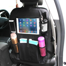 Car Backseat Organizer Multi-Pocket Back Seat Storage Bag Phone Pocket Pouch for Books Tablet Mobile Drinks Tissue