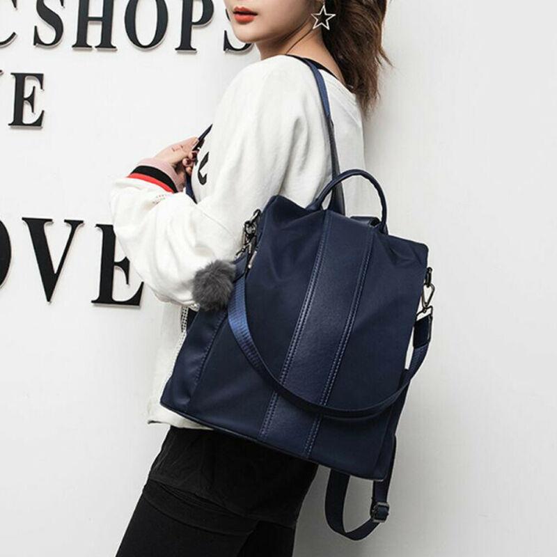 AU Women's Backpack Purse Anti-Theft Rucksack Waterproof Oxford Cloth School Bag Fashion Lady Student Travel Antitheft Schoolbag