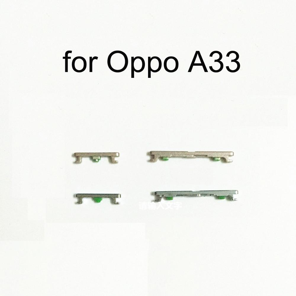 For Oppo A33 Original Mobile Phone Housing Frame New Volume Power Button Side Key Replacement Part