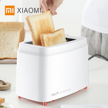 Xiaomi Deerma Automatic Toaster Bread Maker Toster Breakfast Machine Electric Baking Machine Kitchen Appliances household automatic breakfast making machine american mini hot dog machine bread sausage maker toast furnace