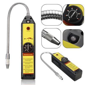 WJL-6000 Freon Leak Detector Halogen Refrigerant Gas Leakage Tester HVAC Air Condition R22 R410A R134A CFC