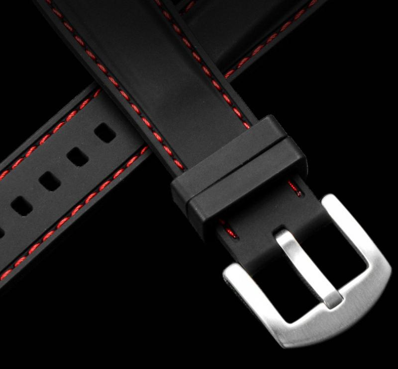 High Quarlity Silicone Watch Band For Men Women Watch Rubber Sport Waterproof Soft Watches Strap 18mm 20mm 22mm 24mm Buckle Belt