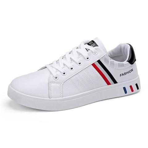 2019 Spring White Shoes Men Shoes Mens Casual Shoes Fashion Sneakers Street Cool Man Footwear Zapatos De Hombre Tenis Masculino Pakistan