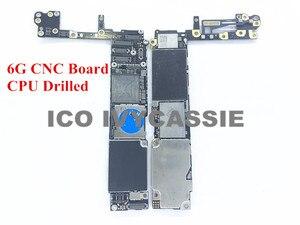 Image 1 - Für iPhone 6 6G CNC Bord Gebohrt Mit CPU 16GB 64GB 128GB iCloud Gesperrt Motherboard Entfernen CPU Swap Mainboard Logic Board