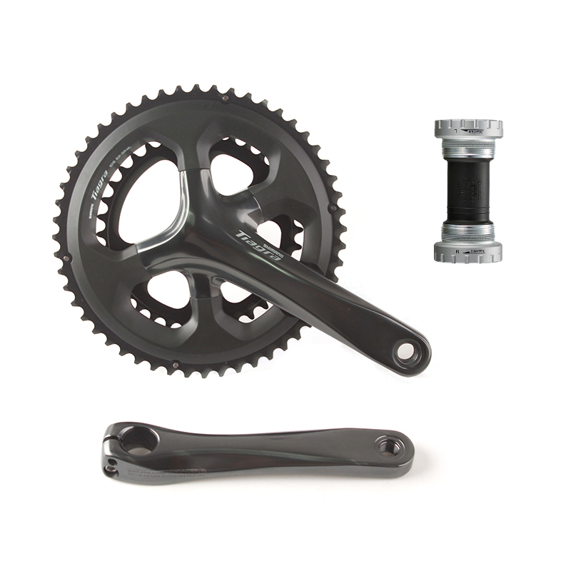 Shimano <font><b>Tiagra</b></font> FC 4700 52x36T 50x34T 170mm 172.5mm Road Bike Bicycle Crankset Include RS500 Bottom Bracket image