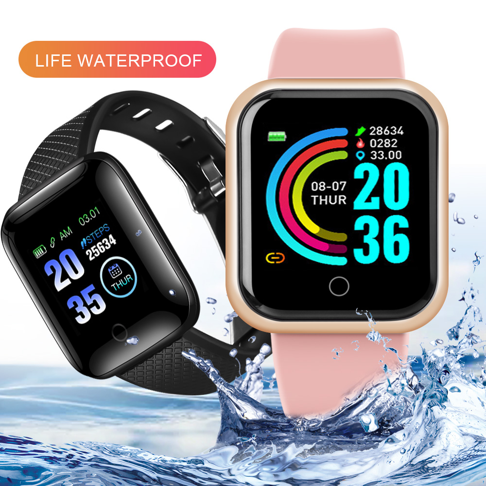 Smart Watches 2020 Android Smart Watch Men Women Kids Smartwatch Heart Rate Monitor Fitness Tracker Sport Watch Smart Bracelet 1