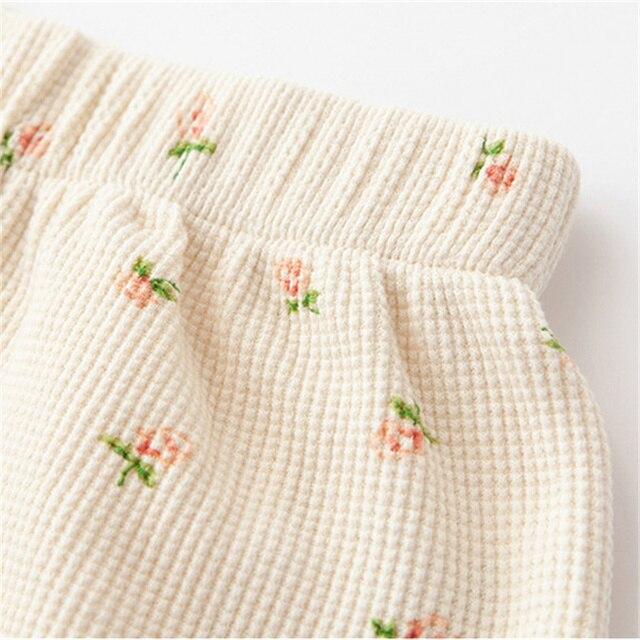 PUWD Y2K Sweet Girls Floral Soft Cotton Shorts 2021 Summer Fashion Ladies High Waist Flower Bottoms Casual Women Chic Shorts 4