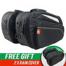 Grand bagage latéral pour moto, sacoche de selle arrière amovible et étanche, paquet latéral 1680D pour casque Prince