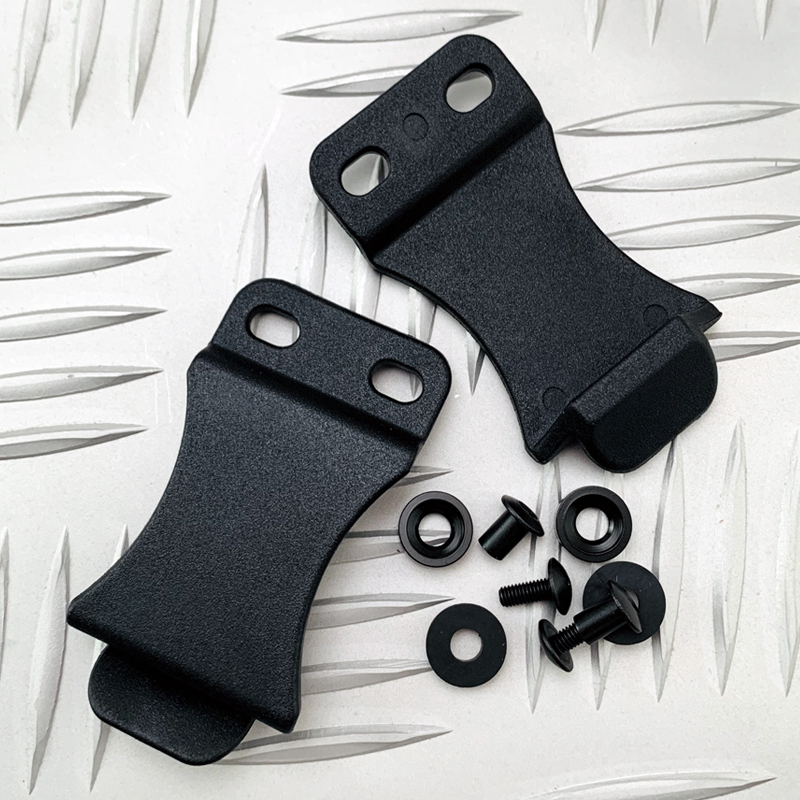 1piece K Sheath Accessories K Sheath Waist Clip Scabbard Clip Holster Clip Back Clip Knife Set Kydex Holster Clips