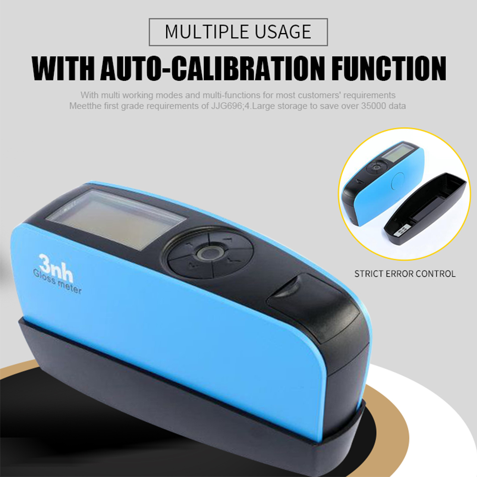 YG60S 60 Degree Economic Gloss Meter Paints Ink Ceramic Marble Tester Surface Cleaning Measurement Glossmeter