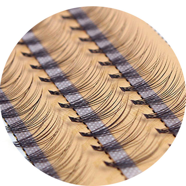 Hot Selling 0.10mm Premade Volume Lash Fans Volume Lashes Individual Lashes Knot with Cluster Eyelashes Private Label 3
