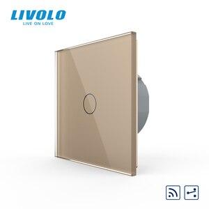Image 5 - Công tắc cảm ứng Livolo Treo Tường cao cấp Cảm Ứng Cảm Biến, Công Tắc Đèn, công tắc điện, Thủy Tinh Pha Lê, Ổ Cắm Điện, đa năng ổ cắm, Tự Do Lựa Chọn