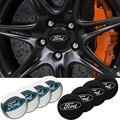 4 шт. Центральная втулка колеса автомобиля крышки эмблемы наклейки для Ford Escape Kuga Mondeo Ecosport Fiesta Focus2 3 Fusion Ranger проводник