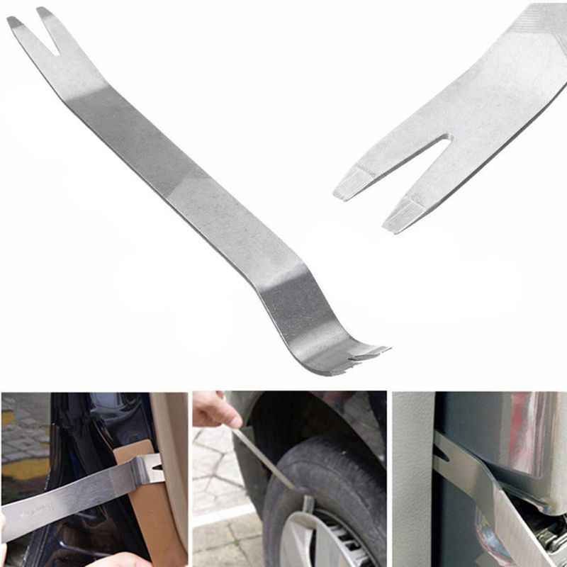 18 Cm Auto Removal Pry Tool Metalen Bekleding Deur Clip Panel Dashboard Reparatie Wrench Q84E