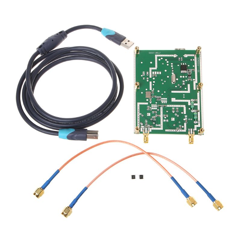Simple Spectrum Analyser D6 with Trace Generator Signals Ratio Frequency Domain Analysis Instrument|  - title=
