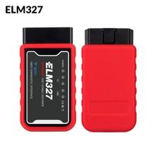 ELM327 WiFi Bluetooth V1.5 PIC18F25K80 Chip OBDII Diagnostic Tool IPhone/Android/PC ELM 327 V 1.5 Auto Scanner OBD 2 Code Reader