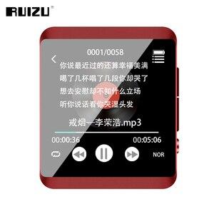 Image 5 - RUIZU M5 フルタッチスクリーンポータブル MP3 プレーヤー 8 ギガバイト/16 ギガバイトスポーツ Bluetooth MP3 プレーヤーサポート FM 、録音、電子書籍、時計、歩数計