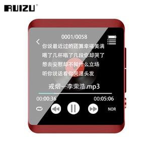 Image 5 - RUIZU M5 מלא מגע מסך נייד MP3 נגן 8 GB/16 GB ספורט Bluetooth MP3 נגן תמיכת FM, הקלטה, ספר אלקטרוני, שעון, מד צעדים