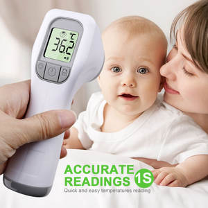 Infrared Forehead-Thermometer Digital-Measure-Tool Lcd-Body-Temperature Fever Non-Contact