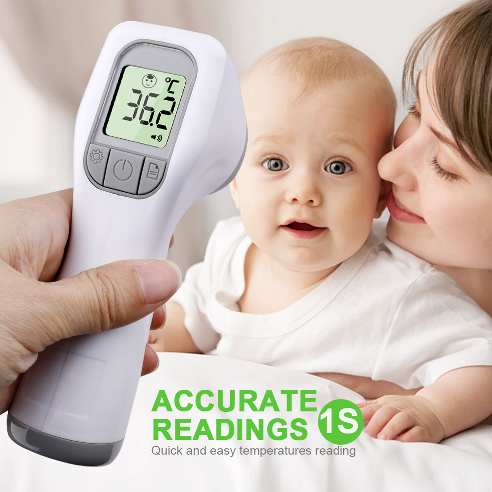 Infrared Thermometer Gun Forehead Thermometer Non-Contact Lcd Body Temperature Fever Digital Measure Tool For Baby Adult