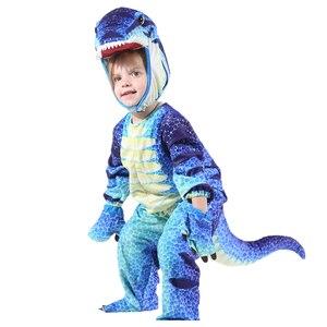 Image 5 - เด็กเครื่องแต่งกายTriceratopsเด็กLittle T Rexเครื่องแต่งกายคอสเพลย์ไดโนเสาร์Jumpsuitฮาโลวีนคอสเพลย์คริสต์มาสเครื่องแต่งกายสำหรับเด็ก