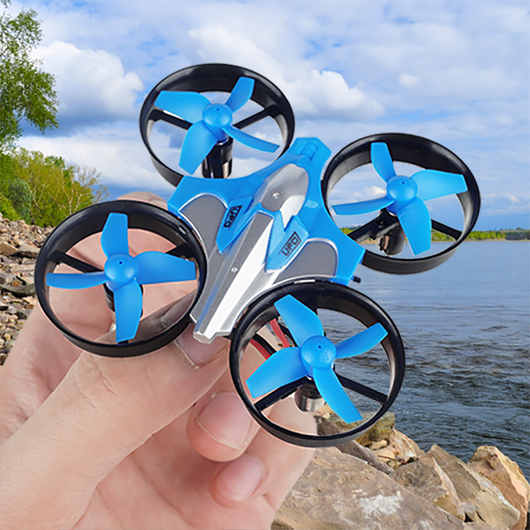 New Style Children Mini Pocket Unmanned Aerial Vehicle Quadcopter A Key Return Telecontrolled Toy Aircraft Gift
