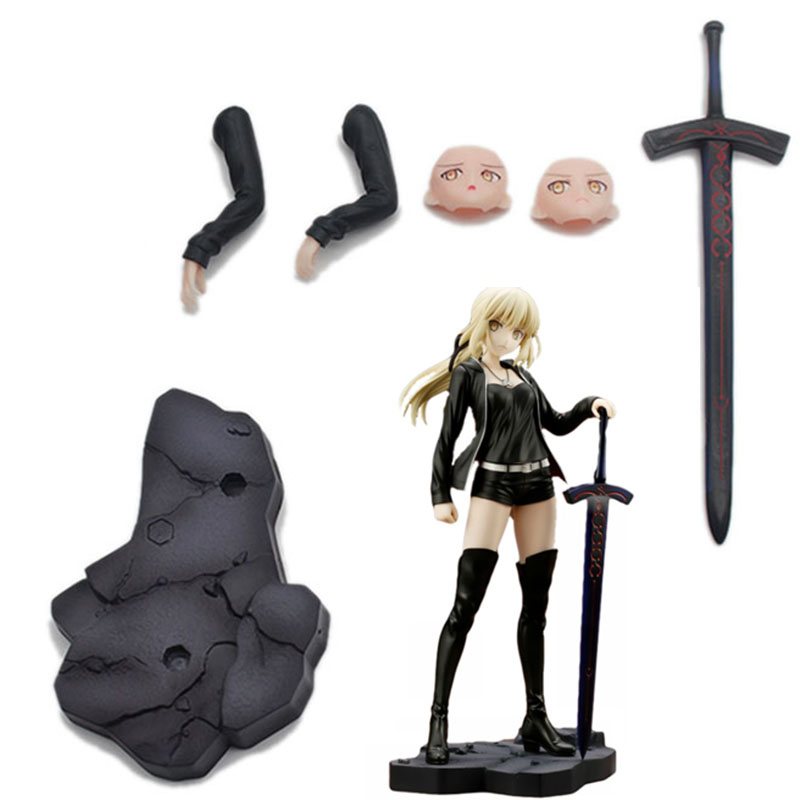 Image 4 - Fate Grand 24cm Altria Pendragon saber Fate stay night PVC Action Figures toys collectible model Toy For Kids childrenAction & Toy Figures   -