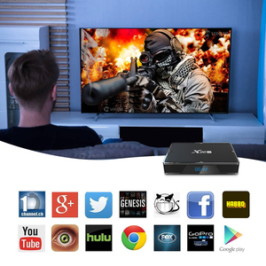 Image 5 - X96H Tivi BOX Android 9.0 Smart TV BOX Max RAM 4GB 64GB Quad Core Dual Wifi Youtube Google playStore 4K Android TV Box Set Top Box