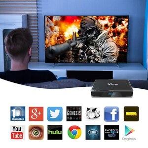 Image 5 - X96H tvボックスアンドロイド9.0のスマートテレビボックス最大4ギガバイトのram 64ギガバイトクアッドコアデュアルカメラwifi youtubeのgoogle playstore 4 18kアンドロイドtvボックスセットトップボックス