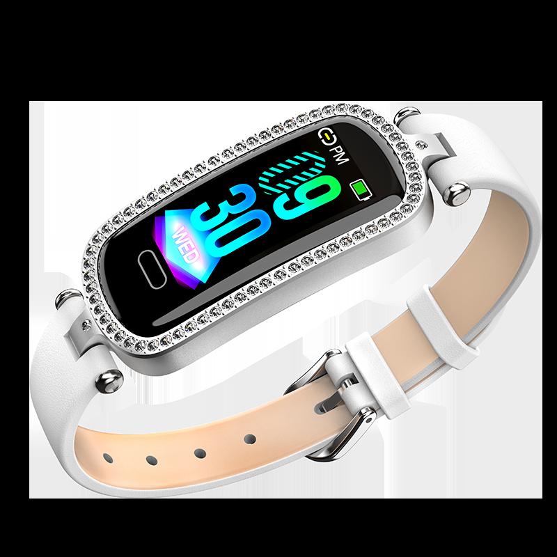 womens watches luxury Smart Bracelet Menstrual Period Reminder watches Heart Rate Monitoring Health Sports fashion SmartWatch