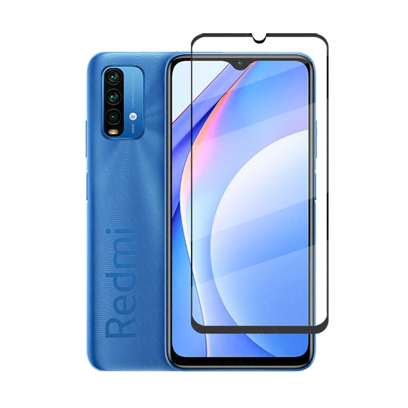 3D Full Glue Tempered Glass For Xiaomi Redmi 9T Full Cover 9H film Screen Protector For Xiaomi Redmi 9T