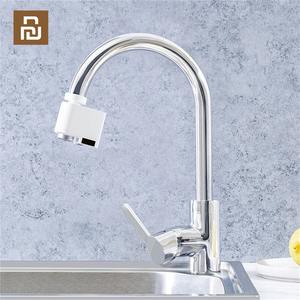 Image 1 - Youpin Zanjia automatyczne urządzenie do oszczędzania wody indukcyjnej podczerwieni regulowany dyfuzor wody do zlew kuchenny i umywalka łazienkowa Fauce