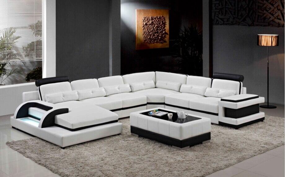 Sofa Set Furniture Ruang Tamu dengan Desain Modern 6 Kursi