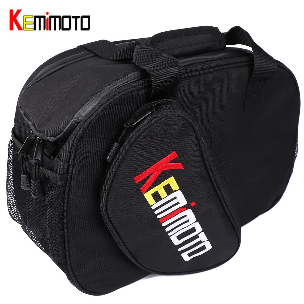 KEMiMOTO moto universel multifonction moto casque sac arrière bordure sac de rangement sac de transport de luxe doux étanche