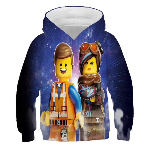 New Boys Hoodie Legoes T-shirts Baby Ninjago Girls Hooded Long Sleeves chothing Children Spring Autumn Clothes Toddler Outerwear 6