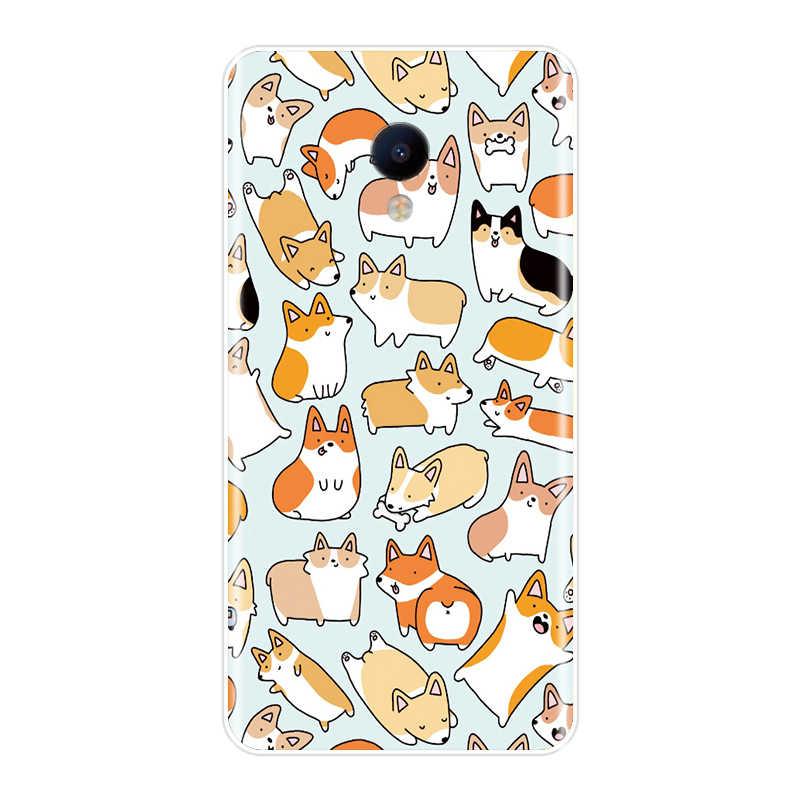 Coques de téléphone Pour Meizu 15 Lite 16 Plus 16th 16x Mignon Licorne Silicone Souple TPU Couverture Arrière Pour Meizu U10 U20 Pro 6 7 Plus