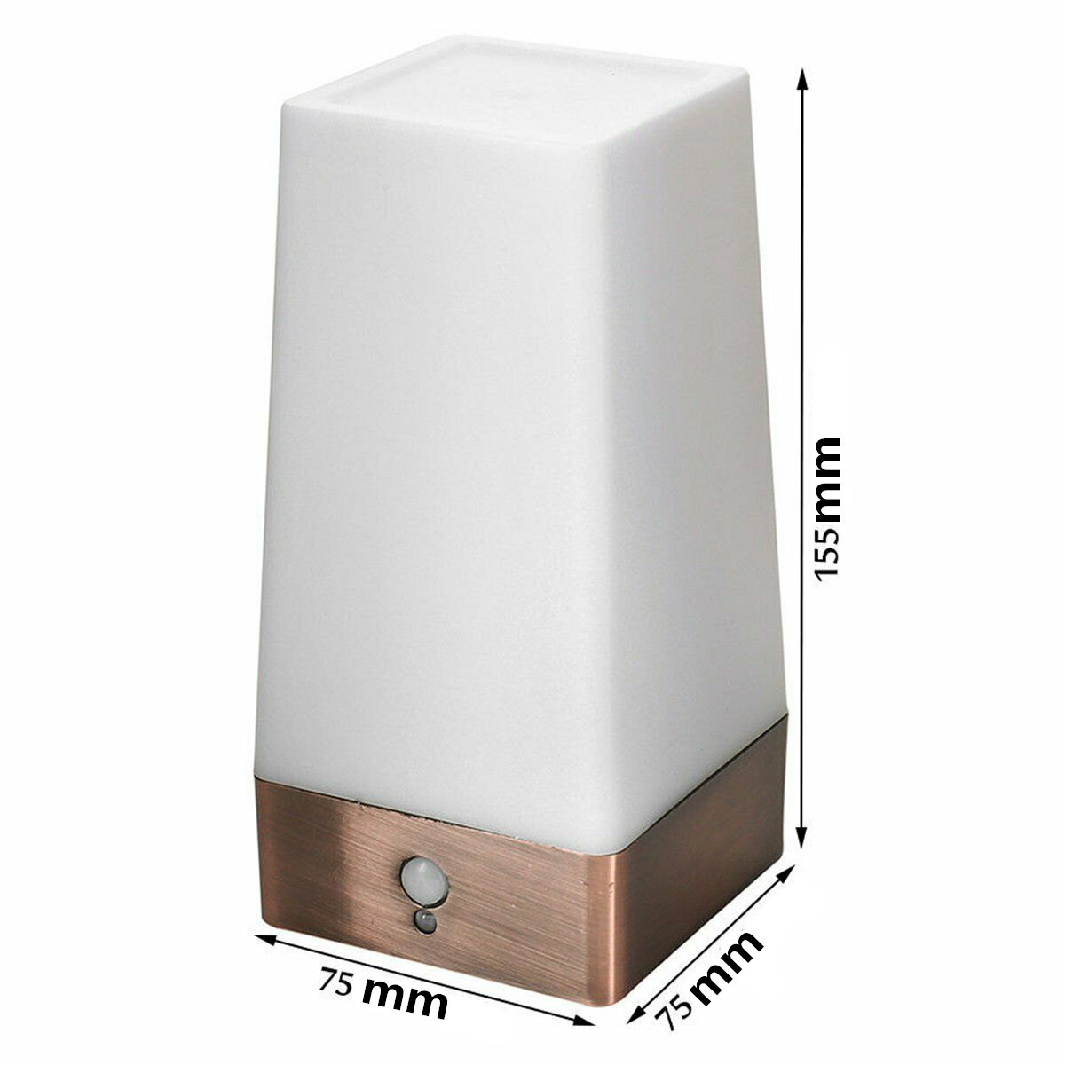 Беспроводной PIR сенсор гостиной настольная лампа светодиодный ночник прикроватный светильник на батарейках настольная лампа теплый белый