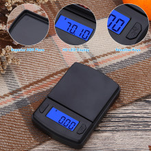 Kitchen Scale 100g/0.01g 500g/0.1g Digital Pocket Scale Tare High Accuracy Scale for Spices Herbs Tea Leaf Jewelry Food Scale(China)