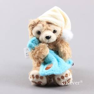 Kawaii Bear plush doll toys Pendant cute Duffy Bear Keychain Bag Pendant Children Christmas Birthday Gift