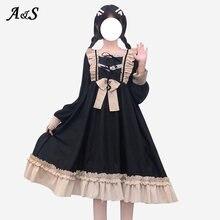 Anbenser harajuku в стиле «Лолита» платье Для женщин ежедневная