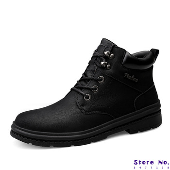 2020 New Men Boots For Martin Boots Male Shoes Adult Motocycle Boots Warm Ankle Boots Winter Shoes Men Shoes Plus Size 38-47