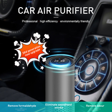 2020 Car Air Purifier with HEPA Filter Fresh Air Anion Car Air Purifier Infrared Sensor Air Cleaner best nawilzacz powietrza 2018 ky hpa 19 hepa air purifier double fan double filter high sensitivity air quality sensor aromatherapy tank at the bottom