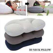 Объемная подушка для шеи, креативная подушка для шеи и головы, подушка для глубокого сна, подушки для снятия давления, моющаяся наволочка, до...