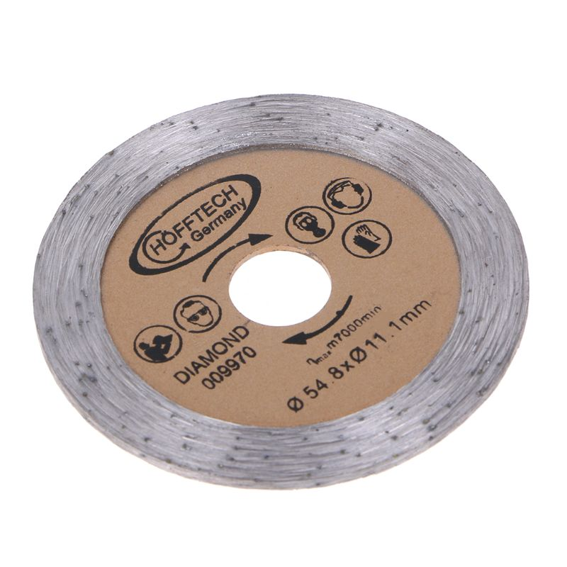Diamond Saw Blade Circular Disc Cutting Sheet For Glass Ceramics Marble High Quality 63HF