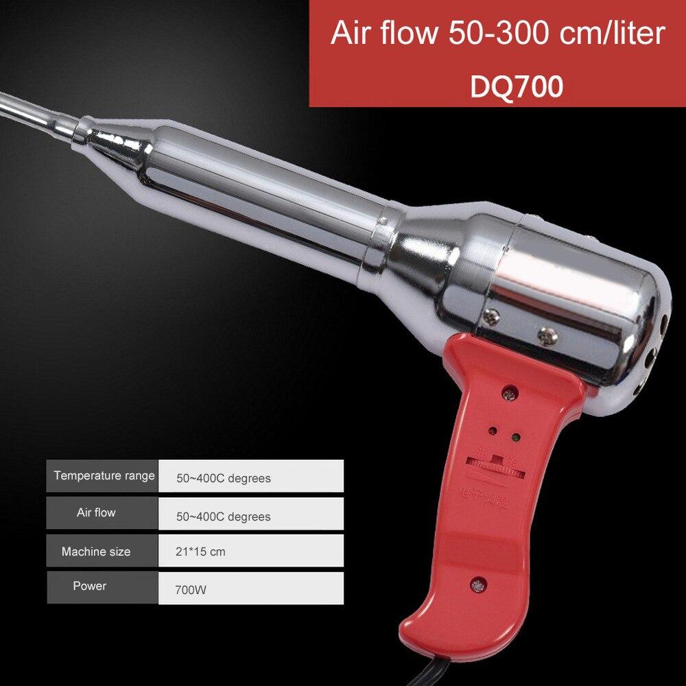 Tools : Welding Torch Hot Air Gun Adjustable Plastic Welders Repair Welding Machine Voltage 220v-50HZ Handheld PVC Tool Equipment 700W