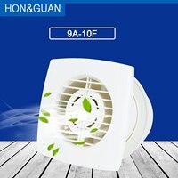 Hon & guan 4 circucircucirculador de ar do banheiro garagem exaustão ventilador; montagem na parede & teto montado ventilador embutido ventiladores de ventilação doméstica
