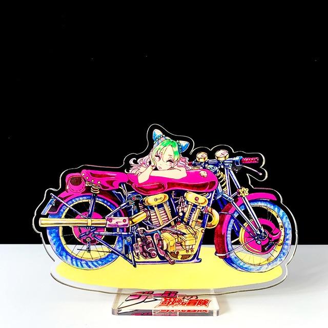 16cm JOJO JOJO's Bizarre Adventure Kakyoin Noriaki Polnareff dio acrylic stand figure model plate holder cake topper anime cool 1