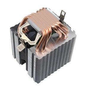BINGHONG Intel Amd кулер для процессора, радиатор высокого качества, 6 тепловых труб, вентилятор для процессора, Охлаждающий радиатор 90 мм для 775 1151 ...