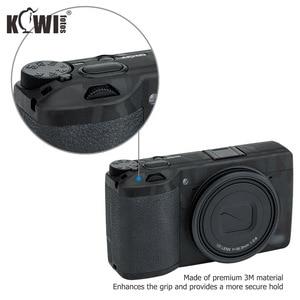Image 3 - Kiwi Anti kras Camera Body Skin Beschermende Film Kit Voor Ricoh GR III GRIII GR3 GR Mark III Camera 3M Stickers Shadow Zwart