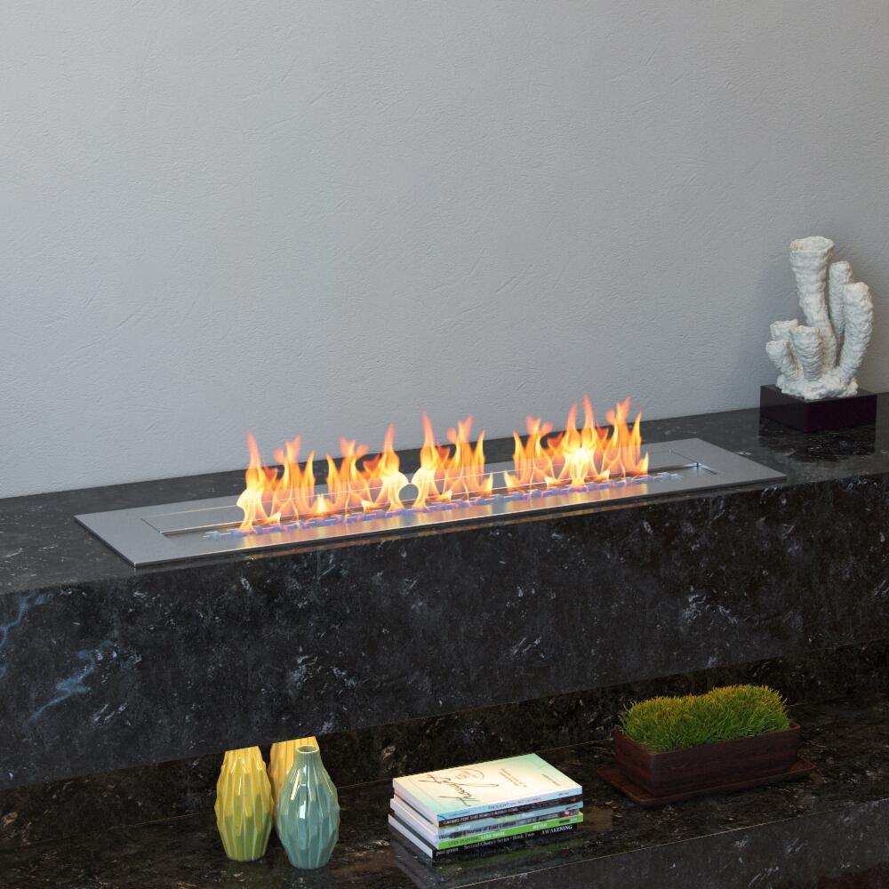 Inno Living 72 Inch Wifi Electric Fireplace Bio Ethanol Fire